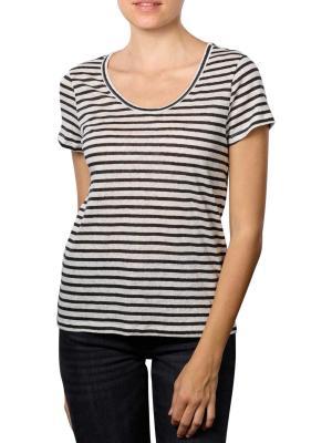 Set T-Shirt Stripped white/black