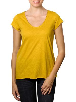 Set T-Shirt Stripped yellow sun
