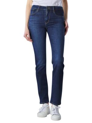 Levi's 724 Jeans High Rise Straight carbon glow