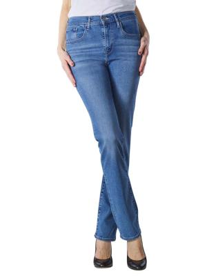 Levi's 724 High Rise Straight Jeans rio frost