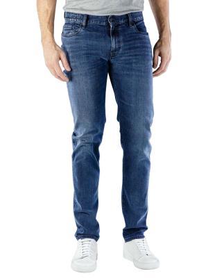 Alberto Slim Jeans Dual FX Denim dark blue