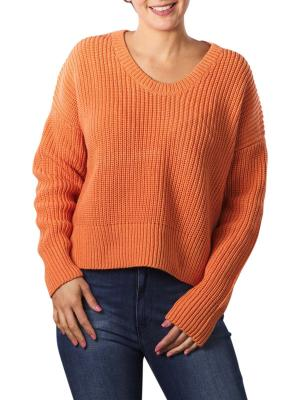 Set Pullover coral gold
