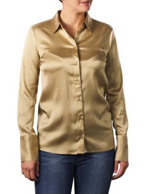 Yaya Satin Shirt With Cuffs macaroon