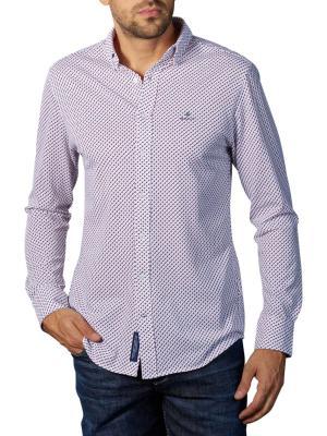 Gant D1 TP Pique Print Reg BG Shirt white