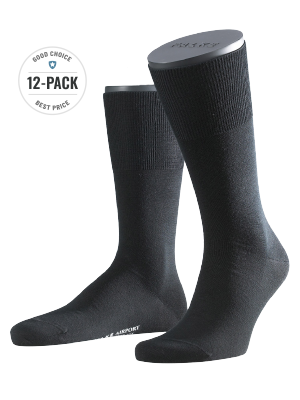 Falke 12-Pack Airport black
