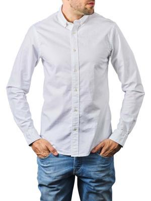 Scotch & Soda Essentials Oxford Shirt Regular white