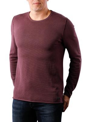 Joop Hogan Sweater Crew Neck dark red