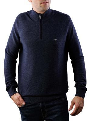 Fynch-Hatton Troyer Zip Sweater navy
