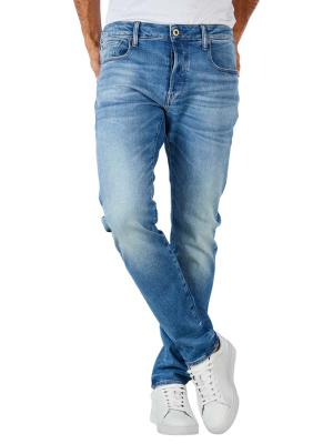 G-Star 3301 Slim Jeans Azure Stretch authentic faded blue
