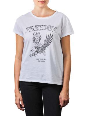 Set Pattern Print T-Shirt bright white