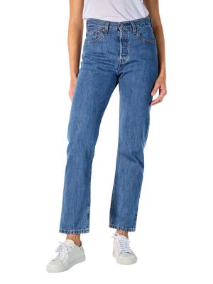 Levi's 501 Cropped Jeans Straight Fit breeze stone