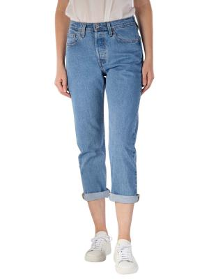 Levi's 501 Cropped Jeans Straight Fit tango shine