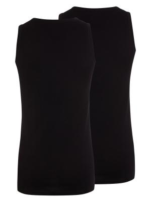 Jockey 2-Pack Modern Classic A-Shirt black