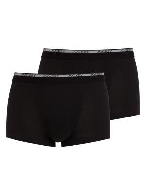 Jockey 2-Pack Modern Classic Short Trunk black