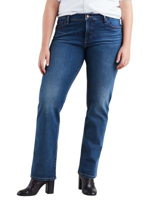 Levi's 314 Jeans PL Shaping Straight shaker