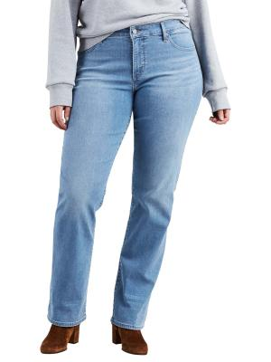 Levi's 314 Jeans PL Shaping Straight mercuy