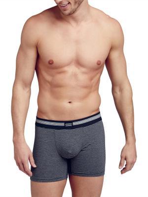 Jockey 3-Pack Cotton Stretch Boxer Trunk grey/black