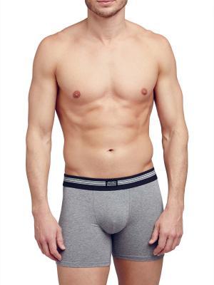 Jockey 3-Pack Cotton Stretch Boxer Trunk stone grey melange