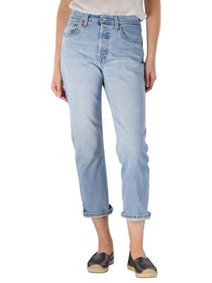Levi's 501 Cropped Jeans Straight Fit tango acid