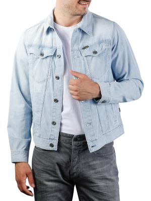 G-Star 3301 Slim Jacket 7 oz Denim sun faded orion blue
