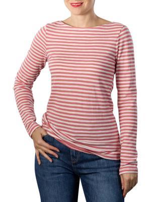 Marc O'Polo Organic T-Shirt Longsleeve hazy peach
