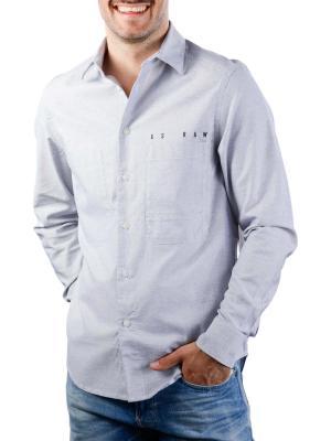 G-Star Dowl Straight Shirt Break Oxford white mazarine