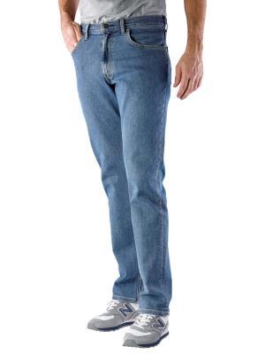 Lee Brooklyn Straight Jeans mid stonewash