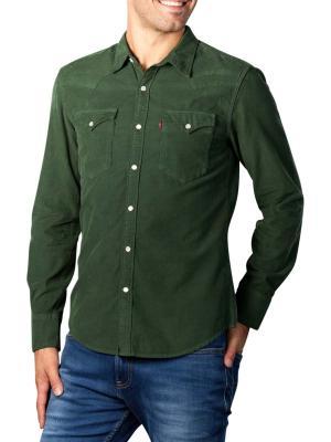 Levi's Barstow Western Slim Shirt garment dye cord