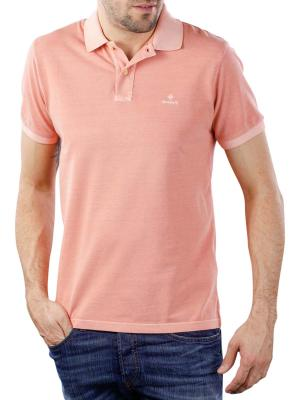 Gant Sunfaded Pique SS Rugger pale coral