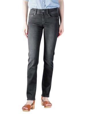G-Star Midge Mid Straight Jeans dusty grey