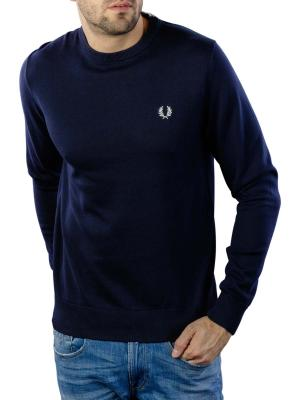 Fred Perry Pullover Crew navy blue