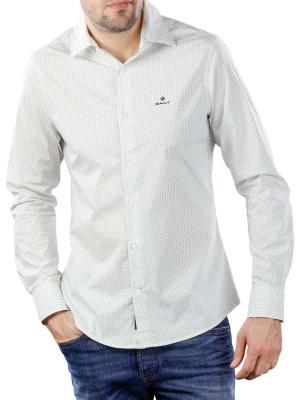 Gant TP BC Micro Print Slim HBD Shirt white