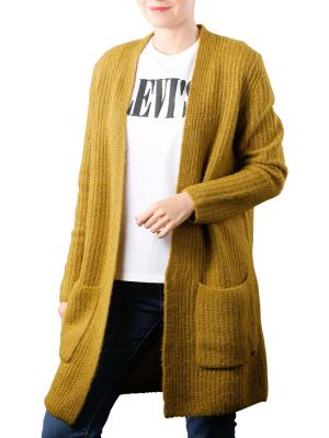 Marc O'Polo Cardigan Open Front pea green