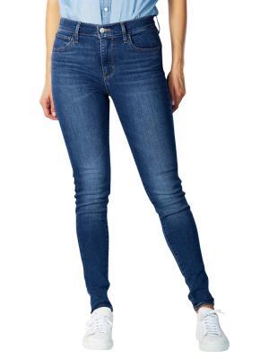 Levi's 720 High Rise Super Skinny Jeans fiery island