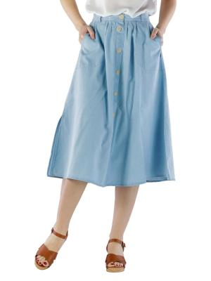 Lee Chambray Skirt Regular Fit summer blue