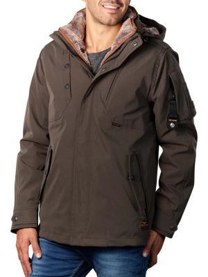 PME Legend Zip Jacket Twill Snowpack 3.0 olive