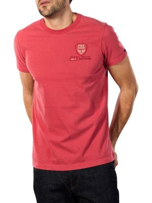 PME Legend Shortsleeve R-Neck T-Shirt mineral red