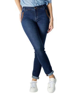 Mos Mosh Etta Jeans Regular Leather blue