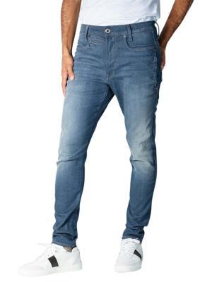 G-Star D-Staq 3D Slim worn in gravel blue