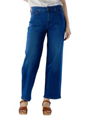 Lee Wide Leg Jeans dark worn
