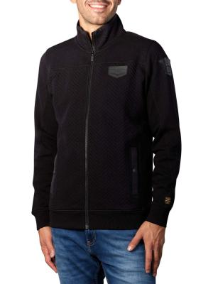 PME Legend Zip Jacket Structured Sweater meteorite