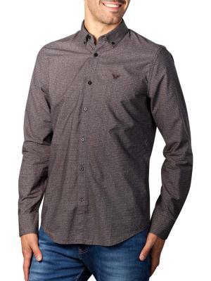 PME Legend Long Sleeve Shirt poplin with digital print