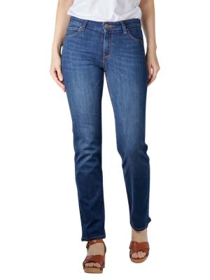 Lee Marion Straight Stretch Jeans dark refined