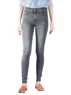 Levi's 720 High Rise Jeans super Skinny smoked out