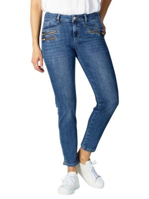 Mos Mosh Berlin Jeans Cropped Re-Loved light blue