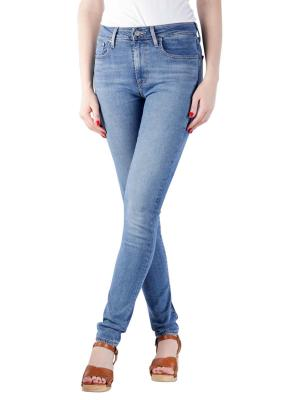 Levi's 721 High Rise Skinny Jeans rio hustle