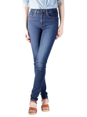 Levi's 721 High Rise Skinny Jeans bogota feels