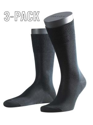 Falke 3-Pack Tiago black