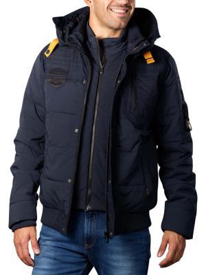 PME Legend Hooded Jacket 3D Melange moulin