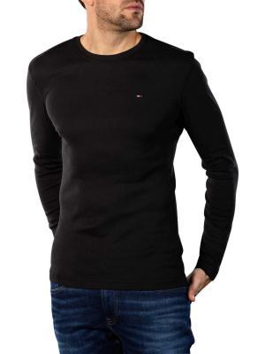 Tommy Jeans Original Rib T-Shirt tommy black